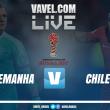 Jogo Alemanha x Chile AO VIVO online na Copa das Confederações 2017 (0-0)