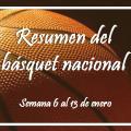 La semana en el básquet nacional