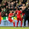 El Liverpool se lleva los tres puntos del Carrow Road en un gran partido