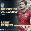Larry Vásquez ya es Tigre
