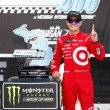 Kyle Larson makes it a Michigan Treble as he wins in the Pure Michigan 400 in overtime