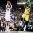 Lebron James y Klay Thompson, Jugadores de la Semana
