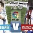 Resultado Leganés - Atlético de Madrid en vivo online en La Liga 2016