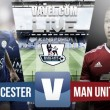 Leicester vs Manchester United en vivo online en Premier League 2015 (0-0)