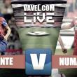 Resultado Levante - Numancia en vivo y en directo online en Segunda División 2017