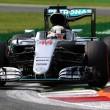 Monza, dominio Mercedes: Hamilton vola e va in pole. Seconda fila Ferrari