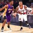 Nba: Lakers sconfitti anche a Portland, crisi sempre più profonda