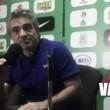 """Juan Manuel Lillo: """"Hay que seguir teniendo la pretensión, si no alcanza pues tendremos que crear más opciones"""""""