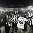 """Rodrigo Lindoso celebra gol em sua 100ª partida pelo Botafogo: """"Dia especial"""""""