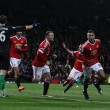 Lingard happy to settle nerves at Old Trafford