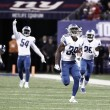 NFL - I Lions passeggiano sui Giants e si aggiudicano il Monday Night Football