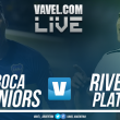 Boca Juniors vs River Plate EN VIVO online por Superclásico 2018 (0-0)