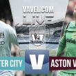Resultado Manchester City vs Aston Villa en la Premier League 2015 (3-2)