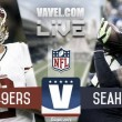 Seattle Seahawks vs San Francisco 49ers Live Stream Updates and Commentary of the NFL (0-0)