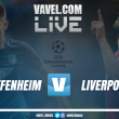 Hoffenheim x Liverpool nos playoffs da Uefa Champions League (1-2)