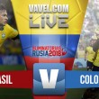 Resultado: Brasil vs Colombia por Eliminatorias (2-1)