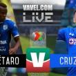 Querétaro vs Cruz Azul en vivo online en Liga MX 2017 (0-0)