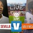 Sevilla vs Valencia en vivo y en directo online (1-0)