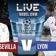 Resultado Sevilla vs Olympique Lyon en vivo online en Champions League 2016
