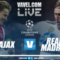 Resultado Ajax 1 x 2 Real Madrid AO VIVO na Champions League