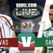 Chivas vs Santos Laguna en vivo online en Liga MX 2018 (0-0)