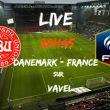 Revivez Danemark - France en direct live