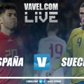Resumen España vs Suecia en la fase de clasificación para la Eurocopa 2020 (3-0)