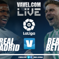 Real Madrid vs Real Betis en vivo y en directo online en LaLiga 2019