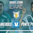 Resultado Palmeiras x Ponte Preta pelo Campeonato Brasileiro 2017 (2-0)