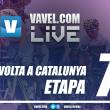 Resultado Etapa 7 de la Volta a Catalunya 2017: Valverde logra la tercera