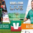 Resultado Cafetaleros Tapachula - Alebrijes Oaxaca en Copa MX 2015 (1-0)