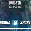 Osasuna vs Sporting en vivo y en directo online en Segunda División 2018