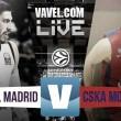 Real Madrid - CSKA de Moscú en directo online en Euroliga (87-96)