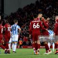 Liverpool 5-0 Huddersfield Town: Five star Reds turn the heat on City