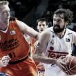 Real Madrid - Valencia Basket: segundo partido, punto de inflexión