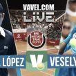 Guillermo García López vs Jiri Vesely en vivo y en directo online en ATP 250 Bucarest (0-0)