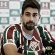Após estreia, Luan Peres é apresentado no Fluminense: ''Já estou adaptado''