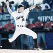 Long Beach State shuts out archival Cal State Fullerton 3-0 in Game 1