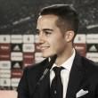 """Lucas Vázquez: """"Creen en mí, puedo luchar con los mejores jugadores del mundo"""""""