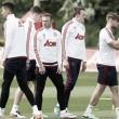 Luke Shaw returns to first team training