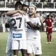 """Lucas Lima põe vitória na conta da torcida: """"Quando a Vila está cheia, é difícil ganhar de nós"""""""