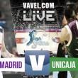 Real Madrid 54 - 50 Unicaja en vivo y en directo online