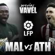 Málaga CF - Athletic de Bilbao: última bala para Europa
