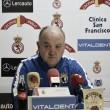 Manix Mandiola destituido en el Burgos CF