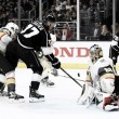 Marc-Andre Fleury stops 31 shots to help Vegas sweep the Los Angeles Kings