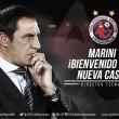 Pablo Marini es presentado con Veracruz