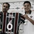 Marlon é apresentado no Flu e se coloca à disposição de Abel Braga para encarar o Cruzeiro