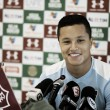 """Marlon comenta disputa na lateral com Ayrton: """"Quem tem a ganhar é o Fluminense"""""""