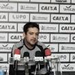 """Marquinhos Santos lamenta chances perdidas e reclama da arbitragem: """"Mexeu com o time"""""""