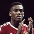 Martial advised by Patrice Evra and inspired by Eric Cantona